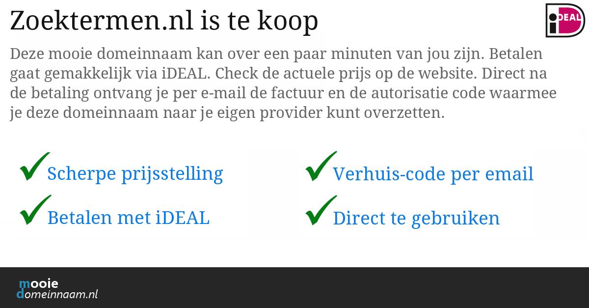 Zoektermen.nl